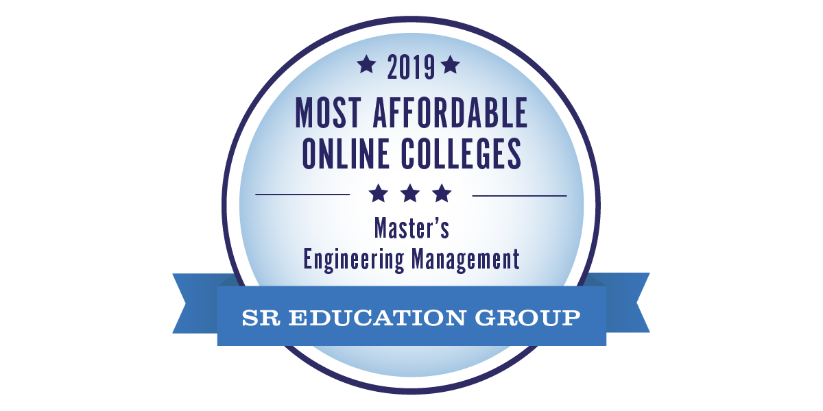 Most Affordable Online Colleges Master's in Engineering Management