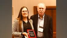 Strobl honored with American Society of Criminology award