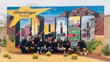 Group of students on Border Immersion Trip