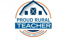 Proud Rural Teacher graphic