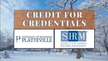 SHRM credit for credentials