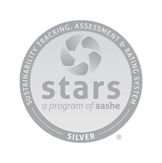 The Sustainability Tracking, Assessment & Rating System STARS Silver