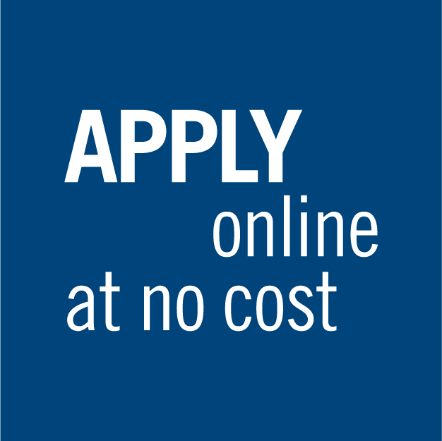 Apply online at no cost