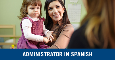 Administrator in Spanish Credential