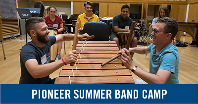 Pioneer Summer Band Camp